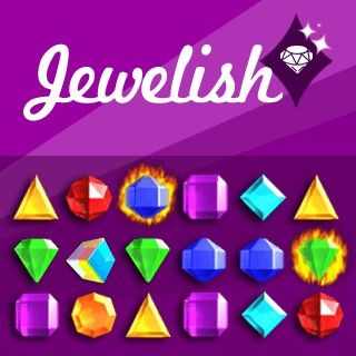 Gioco Match-3 Jewelish