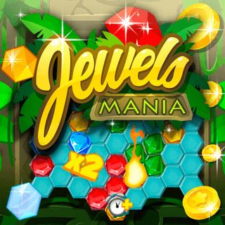 Gioco Match-3 Jewels Mania