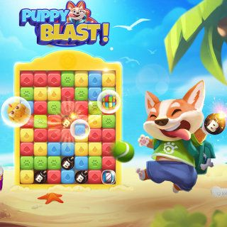 Gioco Match-3 Puppy Blast